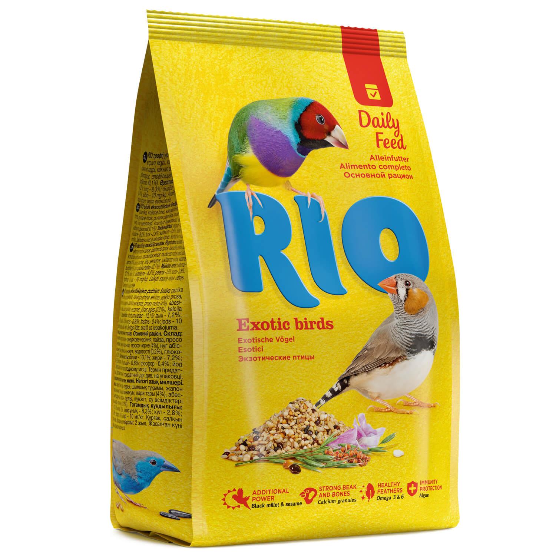 Основной корм RIO Exotic Birds для экзотических птиц 500 г фото