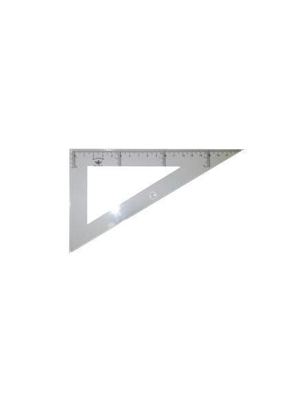 Купить DF104135, Domingo Ferrer Угольник 30°/60°, длина 35 см, шкала 33 см, пластик,
