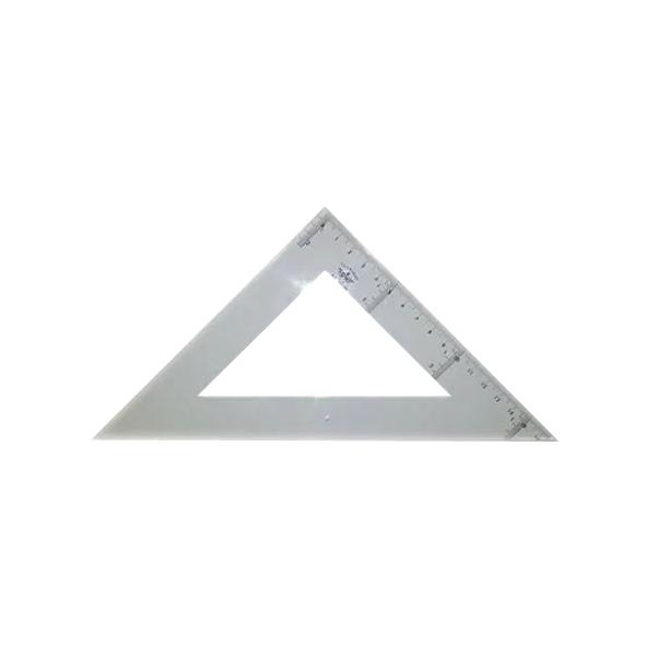 Купить DF124315, Domingo Ferrer Угольник 30°/60°, длина 15 см, шкала 13 см, акрилл,