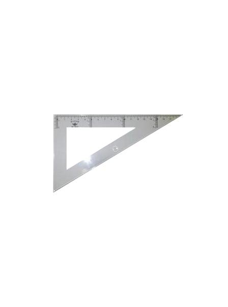 Купить DF104130, Domingo Ferrer Угольник 30°/60°, длина 30 см, шкала 28 см, пластик,