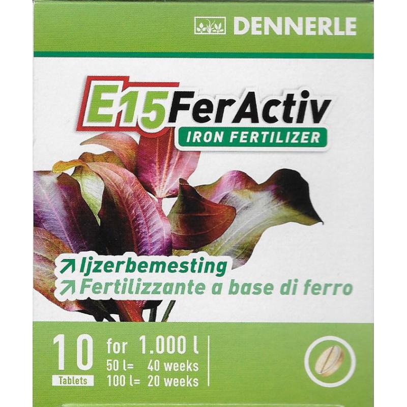 Удобрение для аквариумных растений Dennerle E15 FerActiv