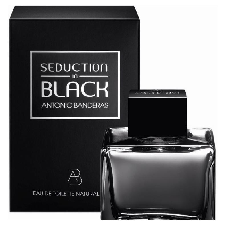 Купить Туалетная вода Antonio Banderas Seduction In Black 100 мл