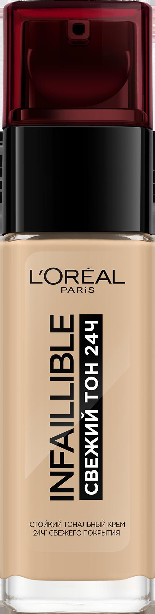 Тональный крем L'Oreal Paris Infallible 24h Stay Fresh Foundation 120 30 мл Ванильный фото