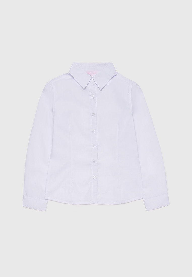 Рубашка детская Modis M212K00031W002 Белый 122