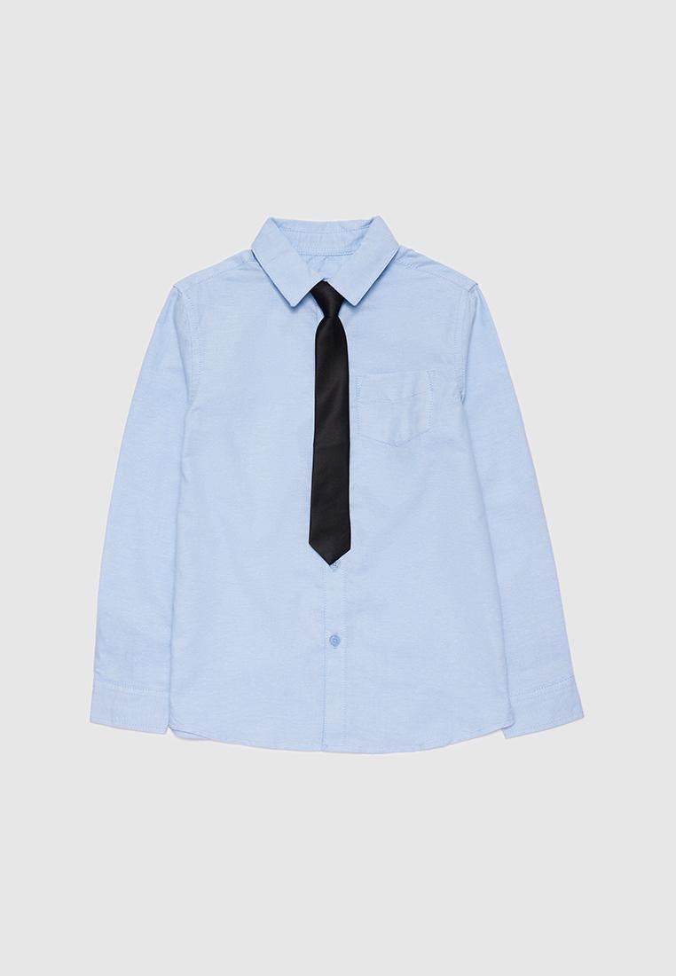 Рубашка детская Modis M212K00009W030 Голубой 152