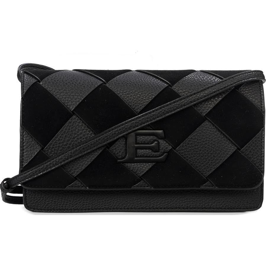 Сумка-клатч женская Ermanno Scervino ESC12401043 black Eba winter woven