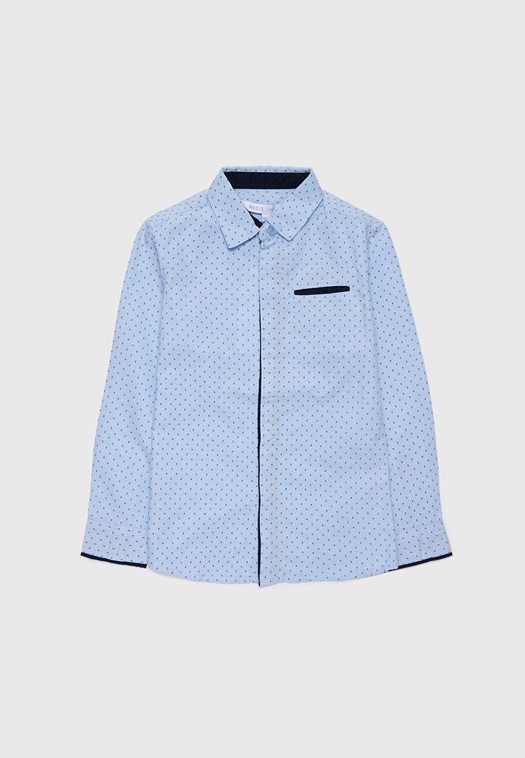 Рубашка детская Modis M212K00006W030 Голубой 122