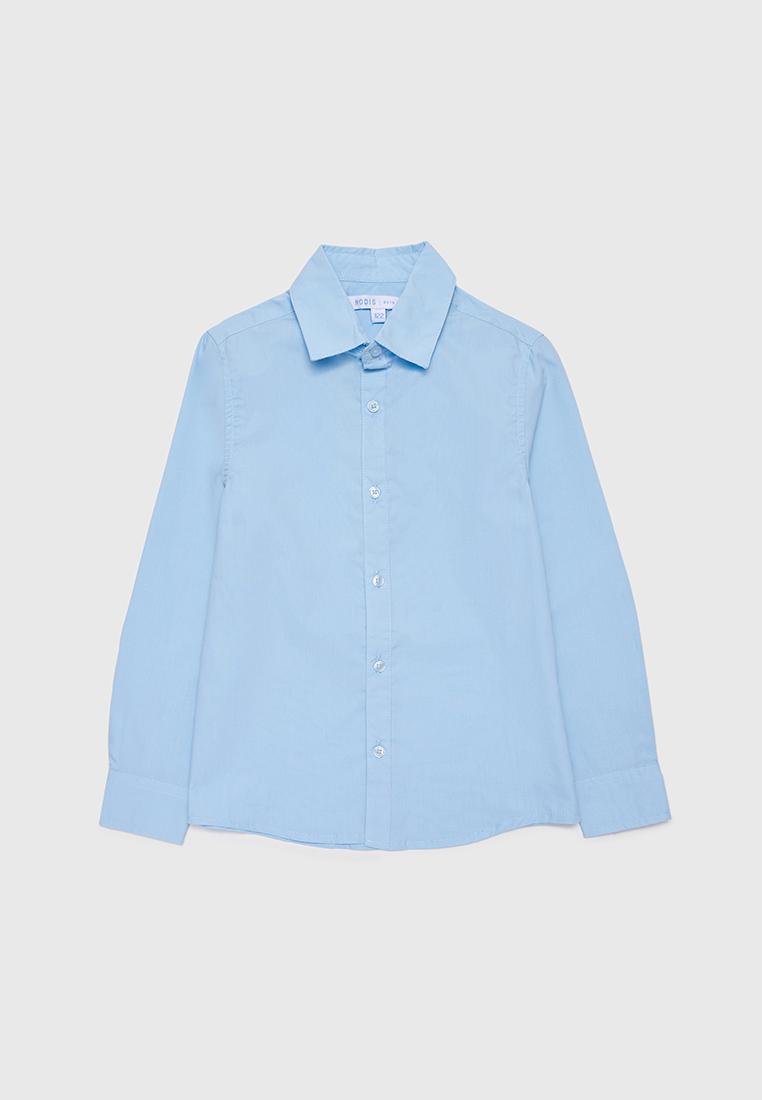Рубашка детская Modis M212K00003W030 Голубой 158
