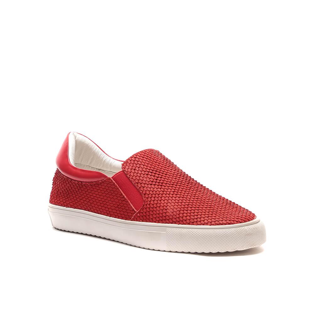 Слипоны женские Vitacci 145070 красные 39 RU