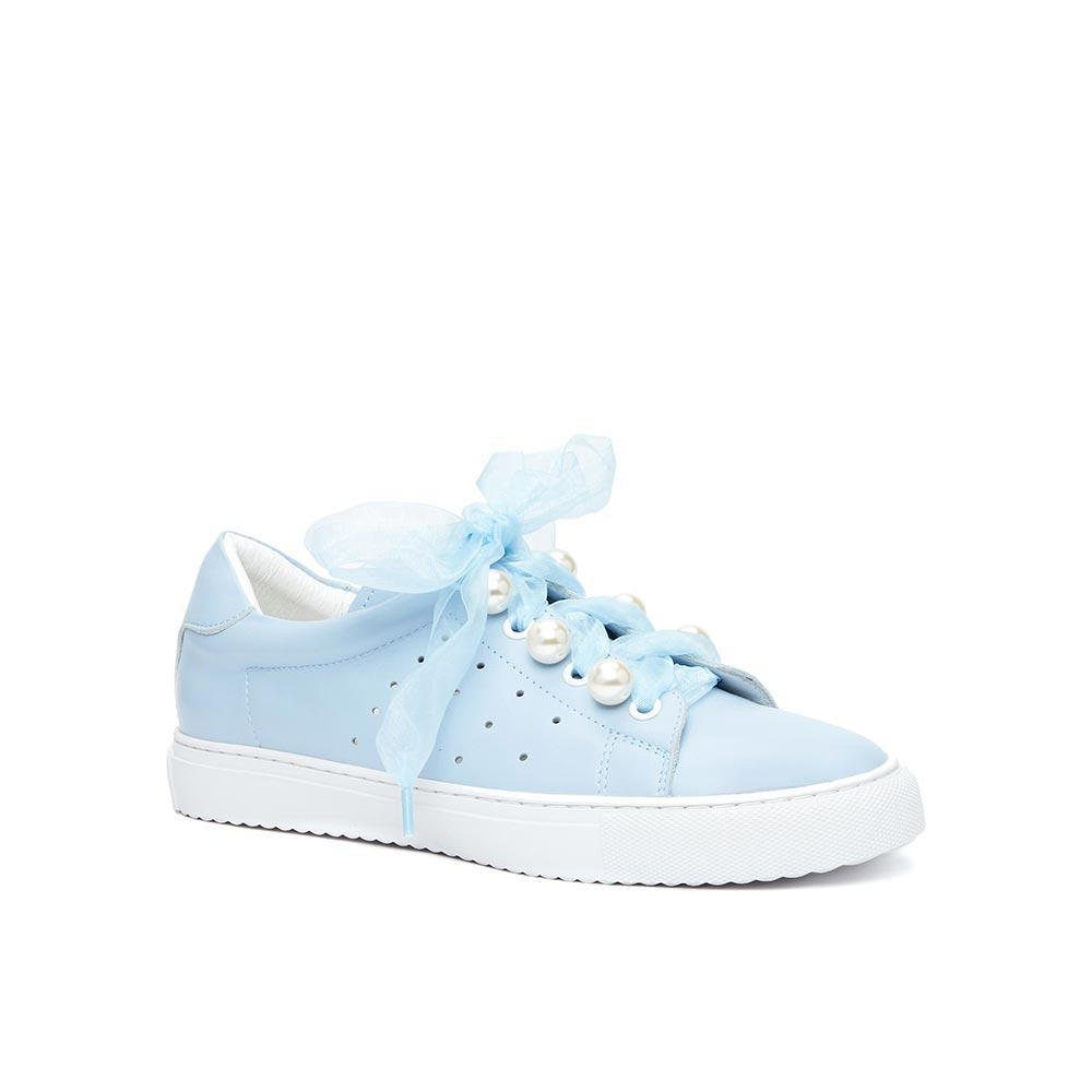 Кеды женские Vitacci 145058 голубые 35 RU