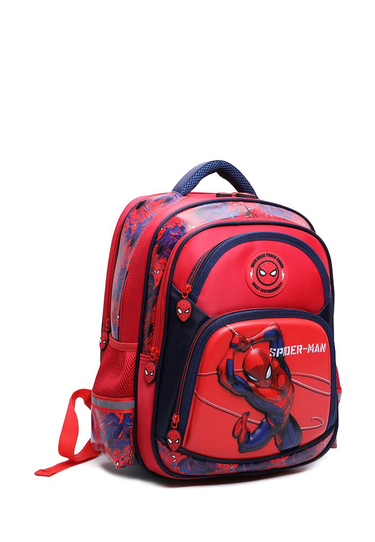 Рюкзак детский SPIDER-MAN 2051-1 красный/ темно-синий