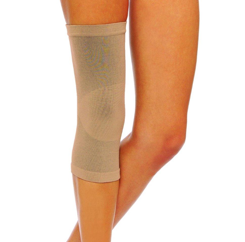 Купить Бандаж эластичный для фиксации коленного сустава БКС - ЦК , размер №3 (кремовый), Центр Компресс