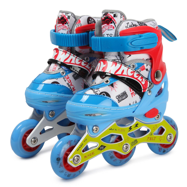 Ролики 1Toy Hot Wheels, PU колеса со светом, размер 26-29
