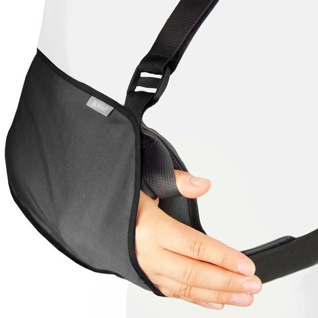 Бандаж на руку, косыночный, XL, темно серый