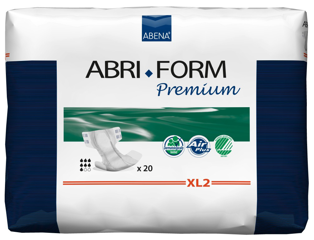 Купить 43069, Подгузники для взрослых XL2, 20 шт. Abena Abri-Form