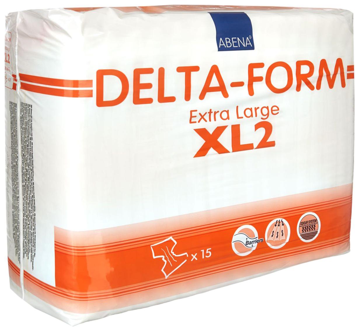 Купить 308875, Подгузники для взрослых XL2, 15 шт. Abena Delta-Form