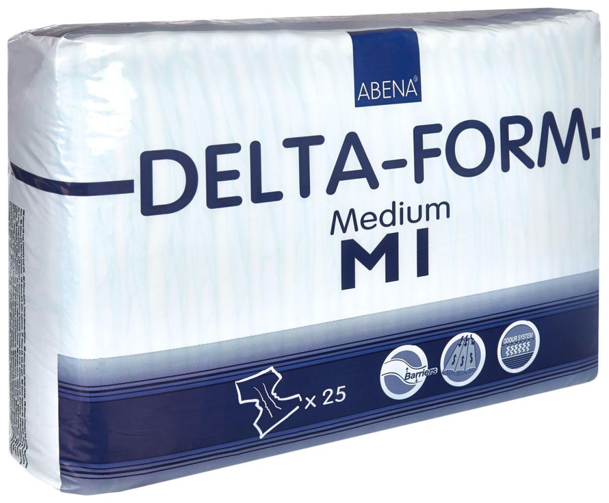 Купить 308810, Подгузники для взрослых M1, 25 шт. Abena Delta-Form