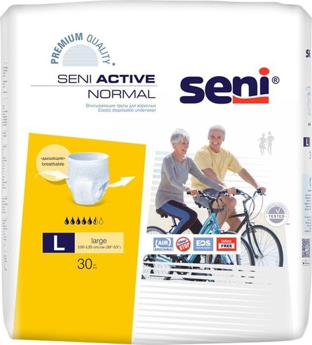 Купить SE-096-ME30-RU0, Впитывающие трусы для взрослых, M, 30 шт. Seni Active Normal, Bella