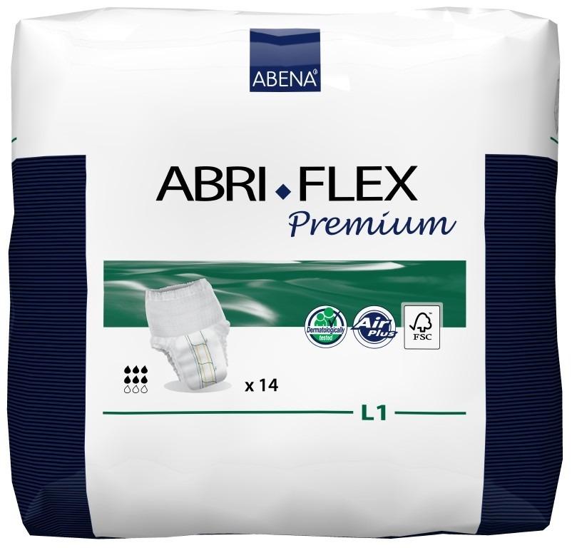 Купить 41086, Впитывающие трусы для взрослых L1, 14 шт. Abena Abri-Flex