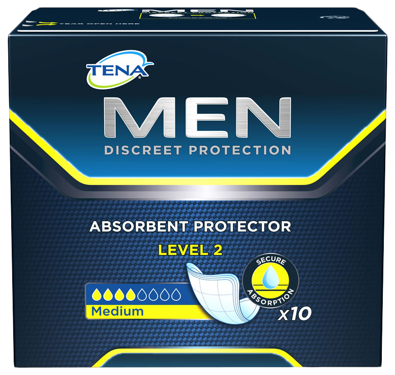 Урологические прокладки для мужчин, 20 шт. Tena