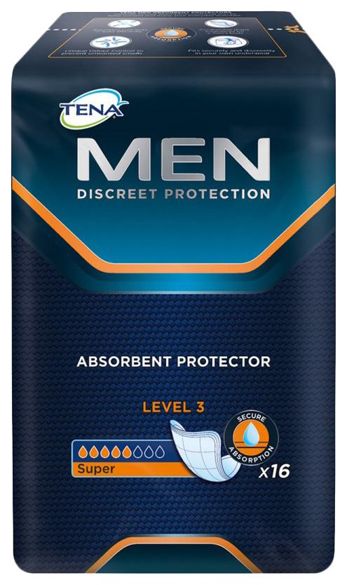 Урологические прокладки для мужчин, 16 шт. Tena