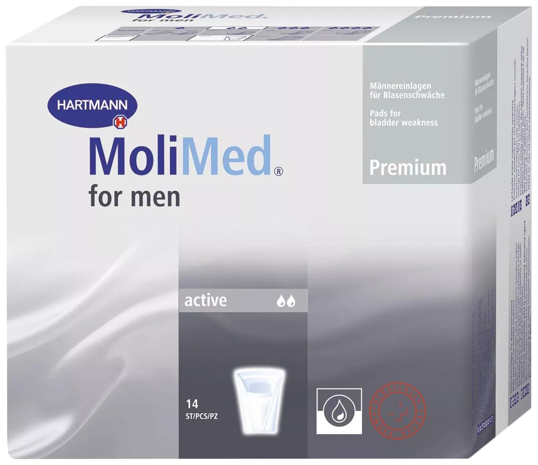 Урологические прокладки для мужчин, 14 шт. MoliMed Premium Protect