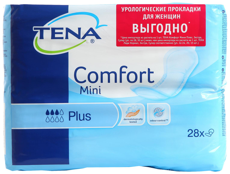 Урологические прокладки для женщин, 28 шт. Tena
