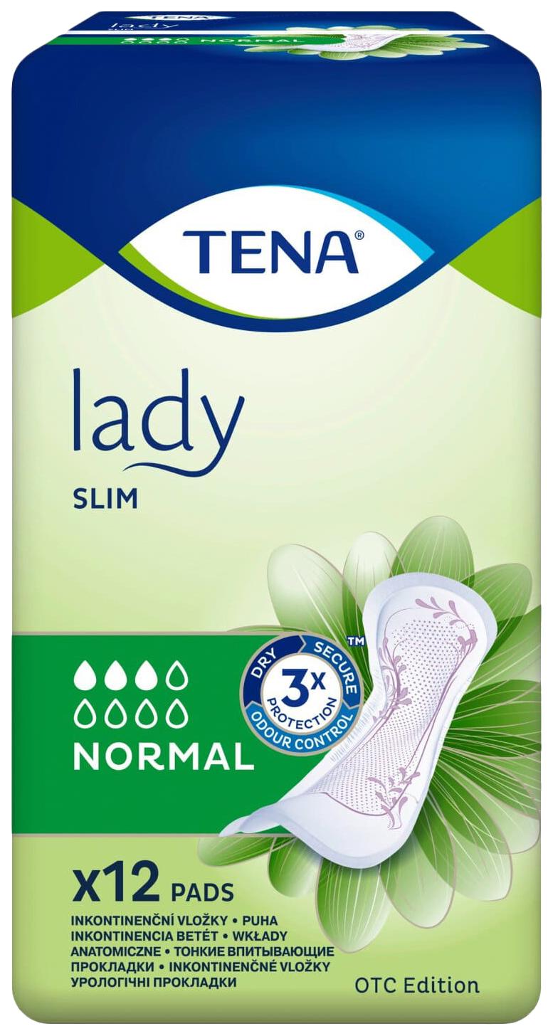 Купить Урологические прокладки для женщин, 12 шт. Tena Lady Slim Normal, Essity