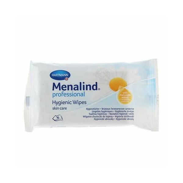Влажные гигиенические салфетки Menalind Professional, 10 шт.