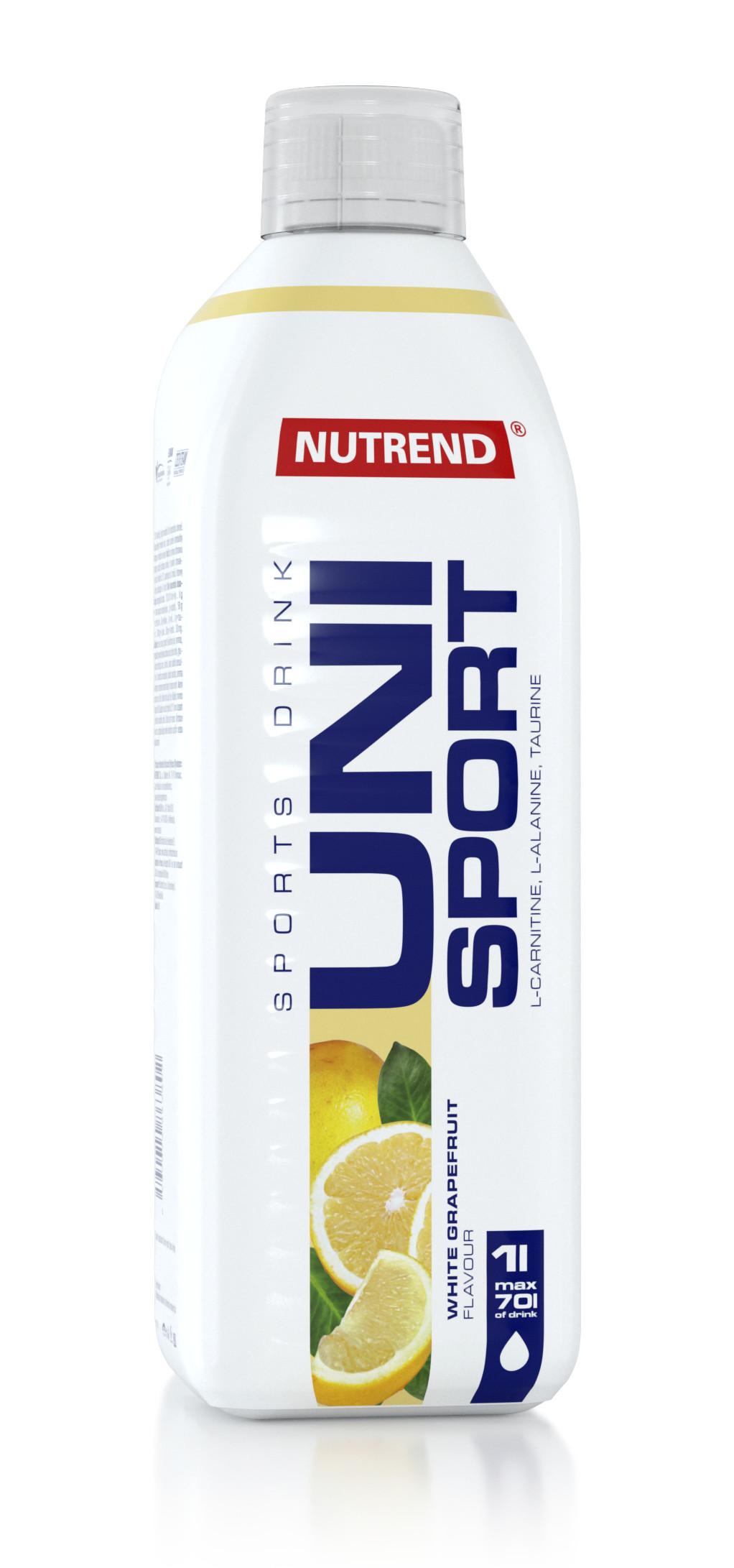 Напиток NUTREND Unisport (1.0 л) белый грейпфрут
