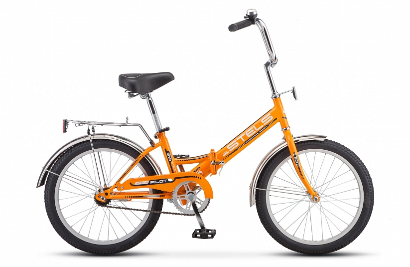 Велосипед 20 складной STELS Pilot 310 2019 13 оранжевый