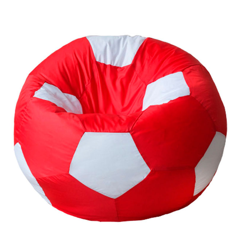 Кресло мяч Оксфорд красно-белый XXXL