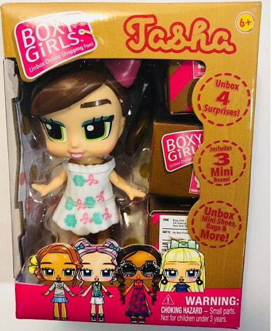 Кукла 1 TOY Т18523 Boxy Girls MINI, 8 см