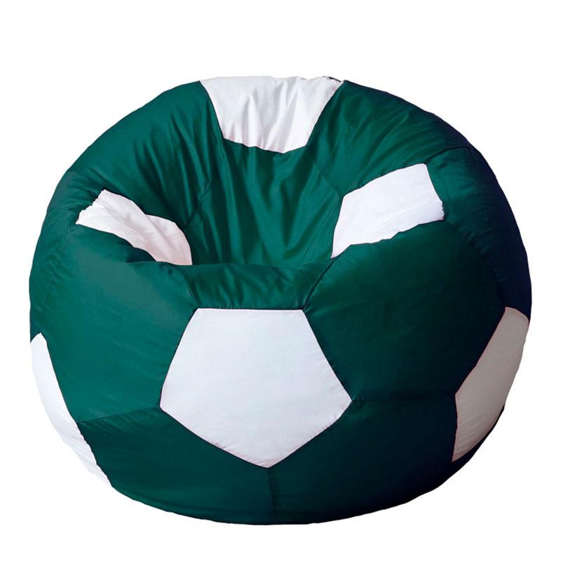 Кресло мяч Оксфорд зелено-белый XXXL