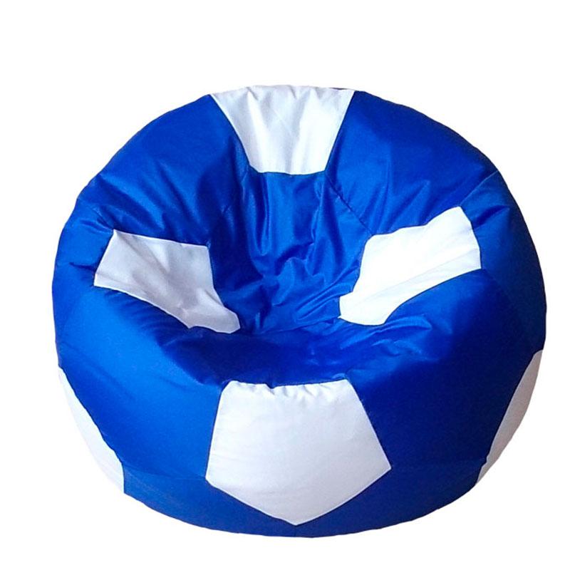 Кресло мяч Оксфорд сине-белый XXXL