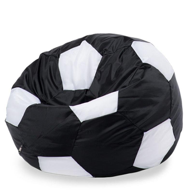 Кресло мяч Оксфорд черно-белый XXXL