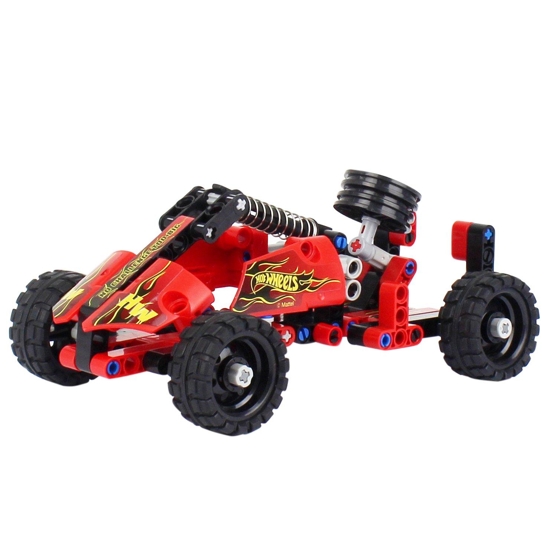 Купить Конструктор 1 TOY Т15402 Hot Wheels Formula, 127 деталей, Конструкторы пластмассовые