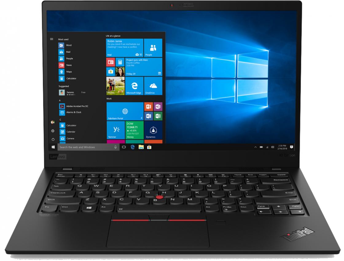 Ноутбук Lenovo ThinkPad X1 Carbon (20QD00M4RT)  - купить со скидкой