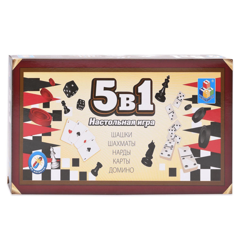 Настольная игра 5 в 1 1