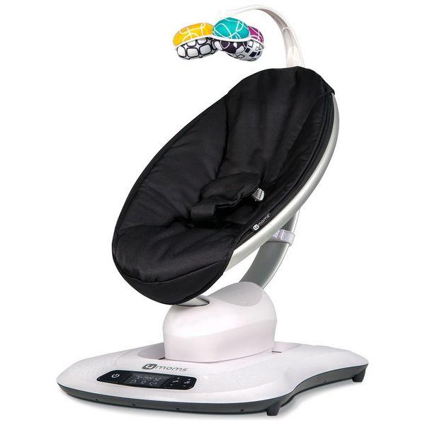 Купить Кресло-качалка 4moms mamaRoo 4 Black Classic,