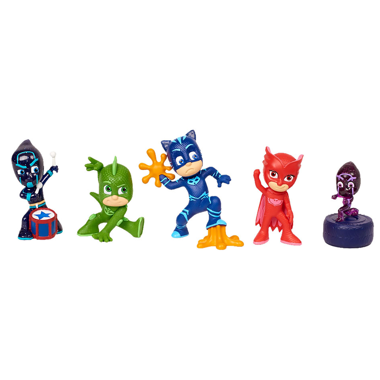 Купить Игровой набор PJ Masks № 3 Герои в масках, 5 шт.,