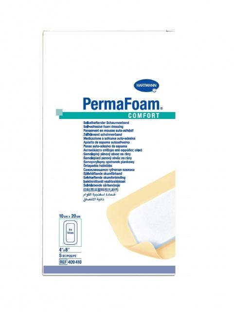 Повязка Permafoam comfort губчатая самоклеящаяся для заживления