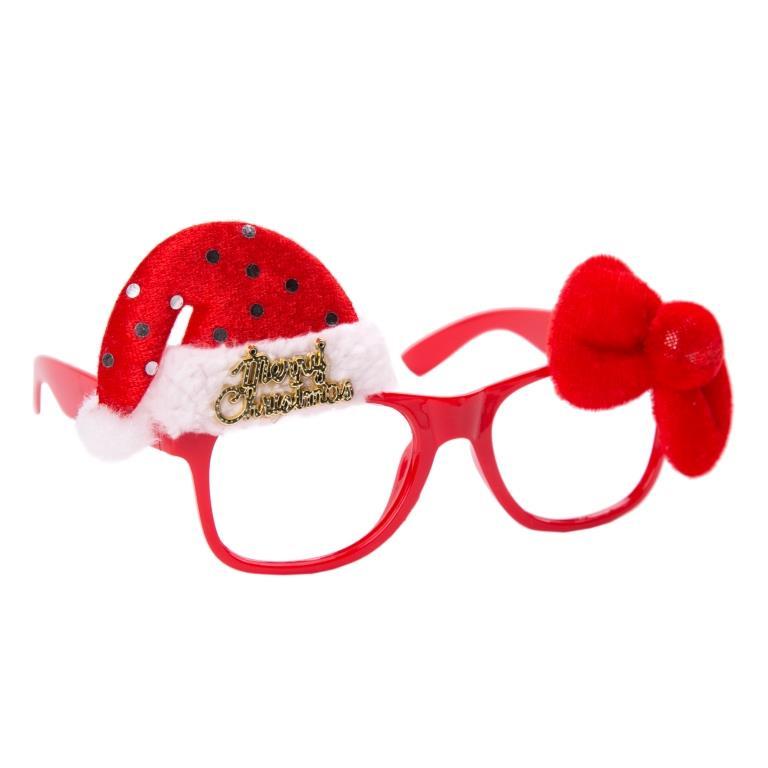 Маскарадные очки Новогодний колпак арт.78589 Феникс-Презент