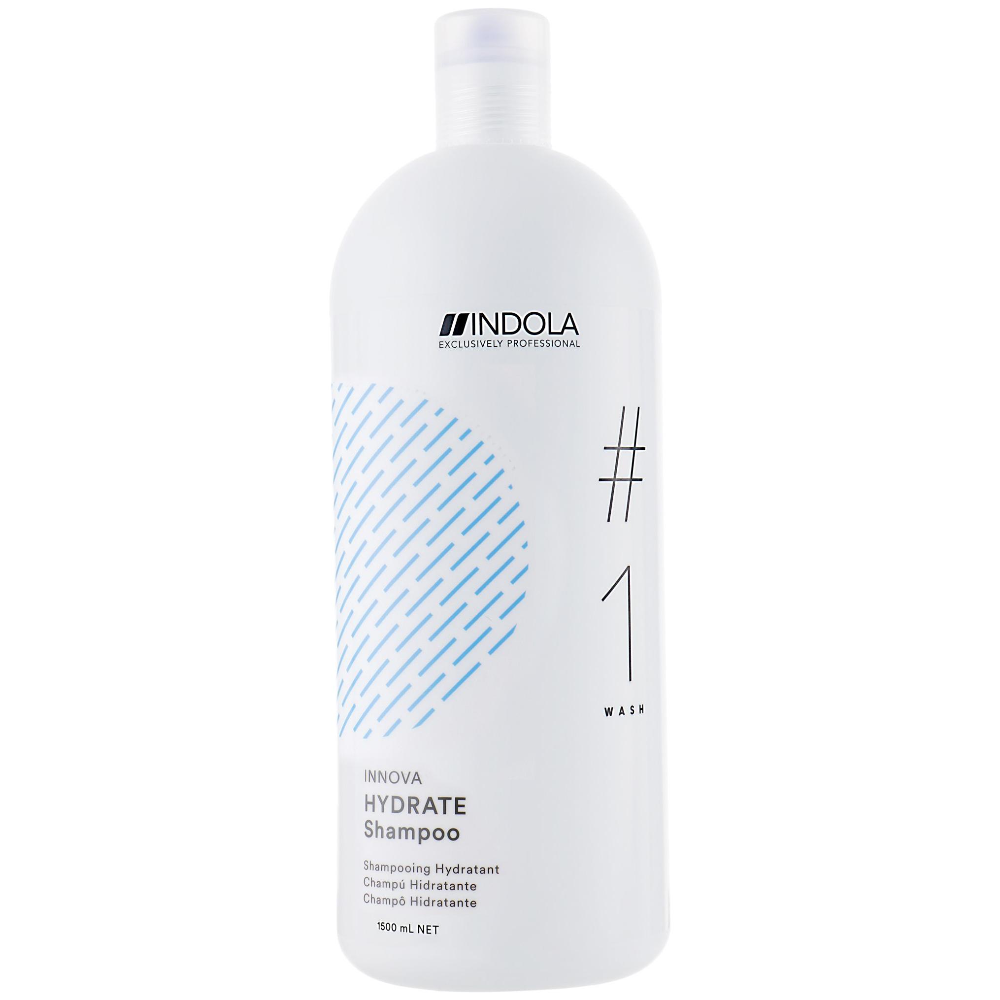 Купить Шампунь Indola Innova Hydrate 1, 5 л