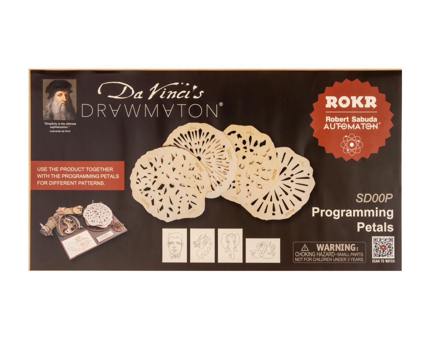 Купить 3D деревянный конструктор Robotime Дополнительные диски для рисовальной машины Да Винчи,