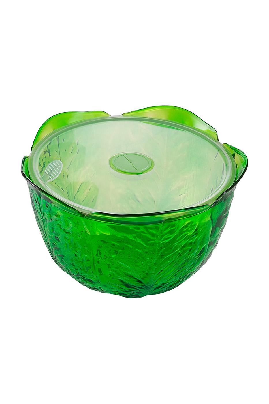 Контейнер для хранения зелени, зеленый, 4 л