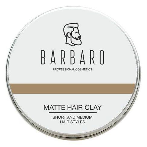 Купить Матовая глина для укладки волос Barbaro Matt Clay 60 гр