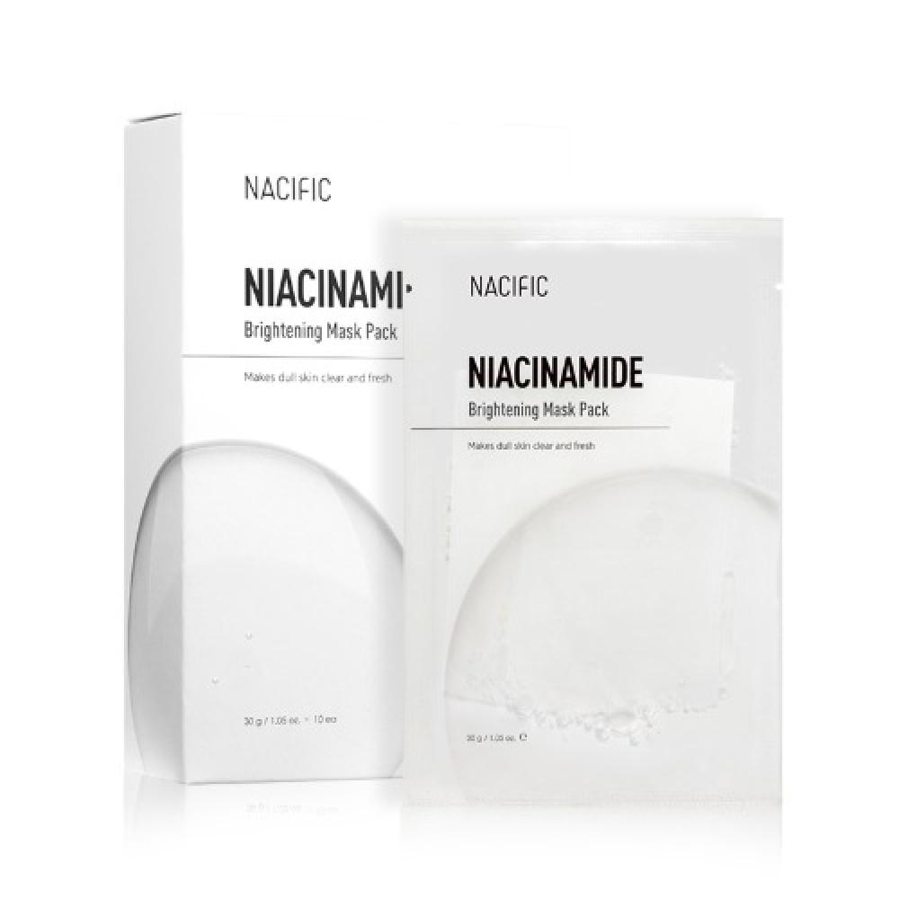 Купить Тканевая маска с ниацинамидом Nacific Niacinamide Brightening Mask Pack, 5шт., Nacific Niacinamide Brightening Mask Pack - 5шт.