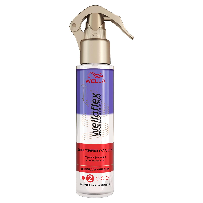 Купить Средство для укладки волос Wella Wellaflex Для горячей укладки