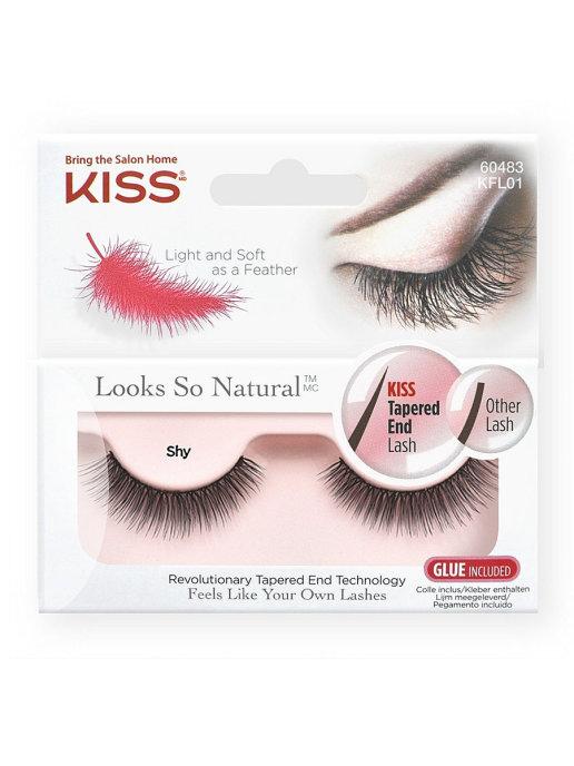 Купить Накладные ресницы Kiss Looks so Natural Eyelashes Shy (KFL01C)